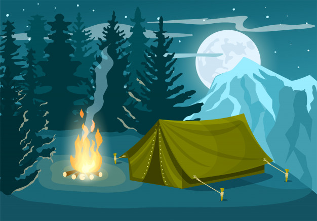 winter camping guide